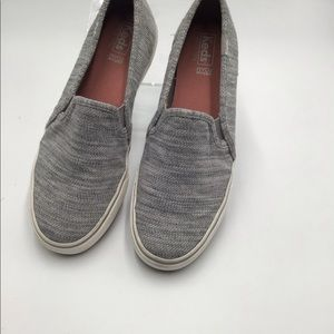 Keds Gray Slip On Loafers Sz 8.5